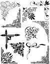 Corners and Borders Vol 2 Unmounted Rubber Stamp Sheet