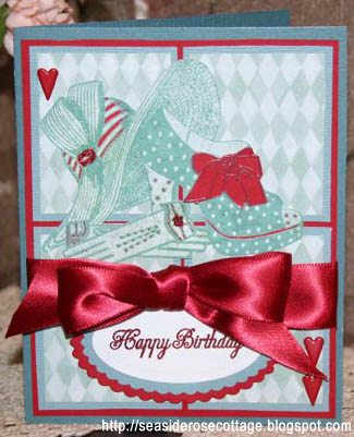 Fashion card by Seaside Rose