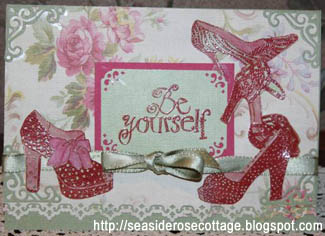 Shoes card by Seaside Rose