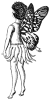 Fairy on Tiptoes Unmounted Rubber Stamp