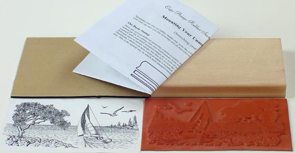 Going Sailing Unmounted Rubber Stamp Kit
