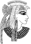 Egyptian Cleopatra Little Stamper