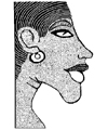 Egyptian Akhenaten Little Stamper
