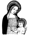 Mary and Child Little Stamper