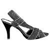 High Heel Shoe Little Stamper