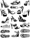 Shoes Vol 2 Unmounted Rubber Stamp Sheet