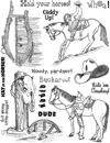 Western Images Vol 3 Unmounted Rubber Stamp Sheet